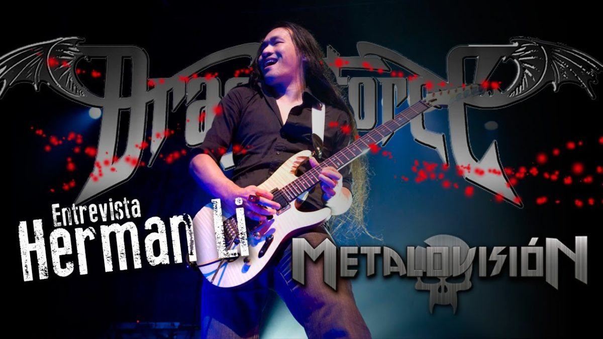 Dragonforce Herman Li Interview (ENG)