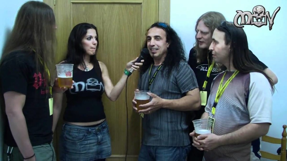 Entrevista Nightmare (Metalovision.tv)